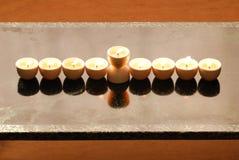 A hanukkah candelabrium. Biblical style Stock Photo