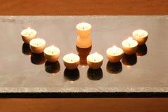 A hanukkah candelabrium Royalty Free Stock Image