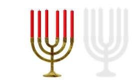 Hanukkah candles Royalty Free Stock Photography