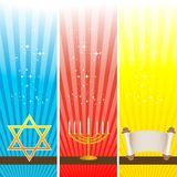 Hanukkah card Stock Photography