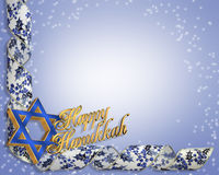 Hanukkah Card background stock image