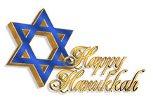 Hanukkah Card background stock images