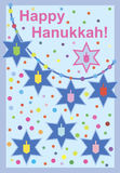 Hanukkah card Stock Photo