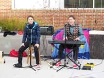 Hanukkah Celebration Entertainment in Washington DC Stock Image