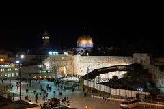 Hanukkah celebrations in Jerusalem. Israel Stock Photography