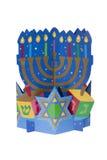 Hanukkah Centerpiece Stock Photography