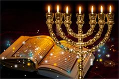 Hanukkah. Chanukah menorah background hannukah hanuka candles royalty free stock photography
