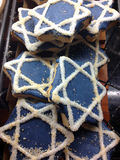 Hanukkah Cookies Close-Up Stock Photo