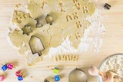 Hanukkah cookies Stock Photos