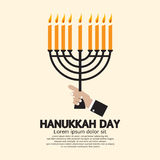 Hanukkah Day Celebration. Royalty Free Stock Photo
