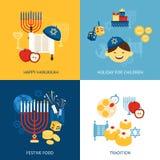 Hanukkah Design Concept Stock Photos