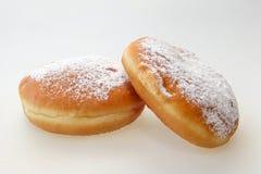Hanukkah doughnut Royalty Free Stock Image