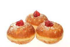 Hanukkah doughnut Stock Image
