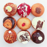 Hanukkah doughnut Stock Photography