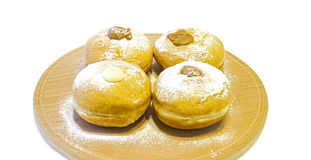 Hanukkah doughnuts Royalty Free Stock Image