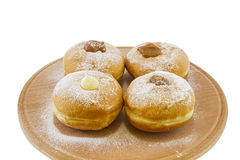 Hanukkah doughnuts royalty free stock photo