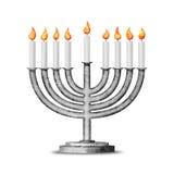 Hanukkah e tutte le cose riguardanti Fotografie Stock