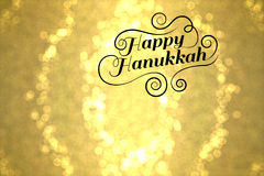 Hanukkah feliz Fotografia de Stock Royalty Free