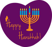 Hanukkah feliz Imagem de Stock Royalty Free
