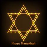 Hanukkah feliz ilustração do vetor