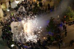 Hanukkah Festivities France Stock Photography