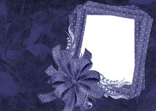 Hanukkah-Foto-Karten-Hintergrund Stockbilder