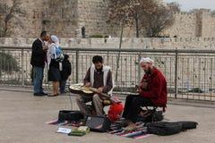 Hanukkah a Gerusalemme Fotografia Stock