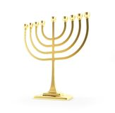 Hanukkah gold Stock Photos