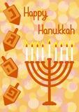 Hanukkah Greeting card Royalty Free Stock Photography