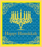 Hanukkah Greeting Card. Stock Images