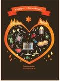 Hanukkah,happy holiday. Royalty Free Stock Image