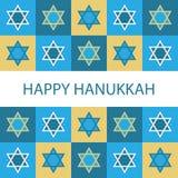 Hanukkah heureux Images libres de droits