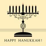 Hanukkah heureux photo libre de droits