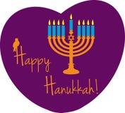 Hanukkah heureux Image libre de droits