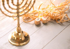 Hanukkah. The Jewish Festival of Lights stock photography