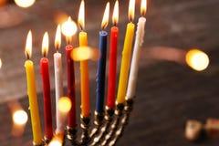 Hanukkah. The Jewish Festival of Lights Stock Image