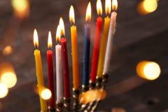 Hanukkah. The Jewish Festival of Lights Royalty Free Stock Photo