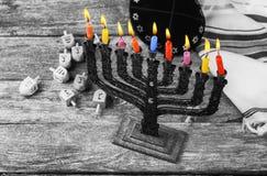 Hanukkah, the Jewish Festival of Lights. Jewish holiday hannukah , the Jewish Festival of Lights Royalty Free Stock Photography
