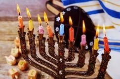 Hanukkah, the Jewish Festival of Lights. Jewish holiday, Holiday symbol Hanukkah, the Jewish Festival of Lights Stock Images