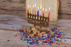 Hanukkah, the Jewish Festival of Lights. Jewish holiday hannukah , the Jewish Festival of Lights Jewish Holiday symbol Stock Photos
