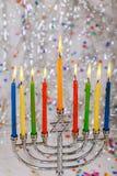 Hanukkah, the Jewish Festival of Lights. Jewish holiday hannukah , the Jewish Festival of Lights Jewish Holiday symbol Stock Photography