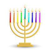 Hanukkah lamp Royalty Free Stock Photo
