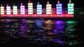 Hanukkah lights Royalty Free Stock Photos