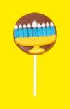 Hanukkah Lollipop. Chocolate Hanukkah Lollipop