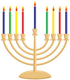 Hanukkah Menorah illustration de vecteur