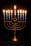 Hanukkah Menorah Stock Images