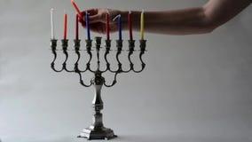 Hanukkah menorah Royalty Free Stock Image