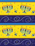 Hanukkah Pattern Royalty Free Stock Photos