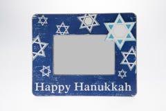 Hanukkah Picture Frame Stock Image