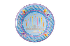 Hanukkah Plate Royalty Free Stock Photo